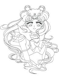 Princess Serenity Coloring Pages Coraline Itc Info Us
