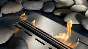 how a ventless gas fireplace works