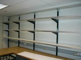 unistrut shelving got the hanging shelf storage thread garage