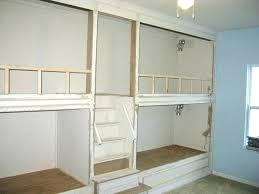 medium size of woodwork built wall bunk bed plans in beds bedroom bu fold away ikea