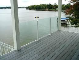 glass decks glass railing for decks glass deck railing systems immense home design ideas interior 8 glass decks seamless railing