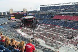 Taylor Swift Gillette Stadium Seating Chart Gillette Stadium Taylor Swift Vs The Red Tour Shared