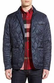 Designer Jackets for Men: Coats, Trenches, Down Vests | Nordstrom & Burberry Gillington Water Resistant Quilted Jacket Adamdwight.com
