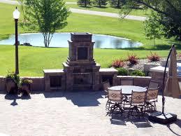 outdoor fireplace paver patio: ks outdoor fireplace on paver patio