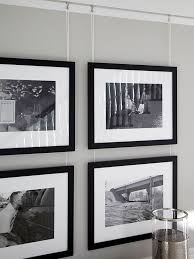 Photo Gallery Convert photos you want to group on a wall to black and white  or