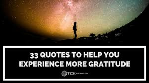 Help Quotes Awesome 48 Quotes To Help You Experience More Gratitude