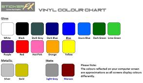 Vf Commodore Colours Chart 2 X Holden Commodore Vf Ss Coche Decal Sticker Orafol Vinilo