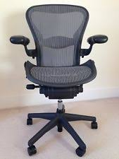 aeron office chair used. hermen miller aeron office chair size b used c