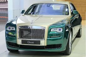 Two New Rolls-Royce Phantom versions: Coupe Tiger and Ghost Golf