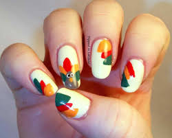Thanksgiving Nail Art Designs Turkey Gobble My Youtube Youtube ...