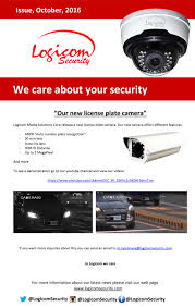 new car plate releaseOctober 2016  Logicom Security