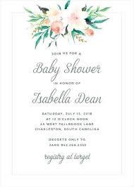 Baby Girl Shower Invite Commpaving Com