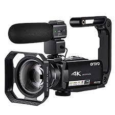 Video Camcorder 4K Vlogging Kamera Ordro AC7 10X Optische Zoom Full HD  Camaras Filmadora für YouTube Blogger Dreharbeiten|Consumer Camcorders
