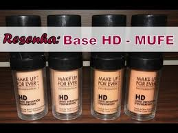 resenha da base hd make up for ever por thaiane lopes