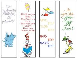 You can also use them to celebrate dr. Dr Seuss Bookmarks Worksheets Teaching Resources Tpt