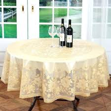 round plastic tablecloths with elastic round plastic table cloth diameter gold wedding table cloth embossing fl round plastic tablecloths