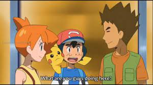 Ash Meets Misty and Brock in Kanto! - Pokemon Sun and Moon Episode 42  English Dubbed - YouTube