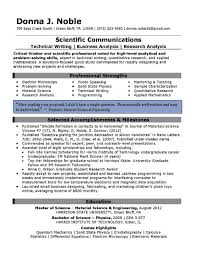 Best Resume Service Science Resume Service Field Technician Resume Installation And 45