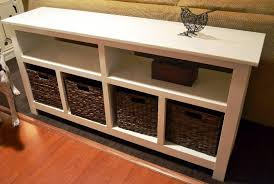 sofa table with storage. Image Of: Sofa Table With Storage R