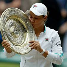 Ashleigh Barty wins first Wimbledon ...