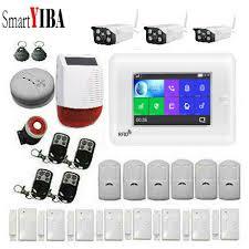 <b>SmartYIBA</b> 3G WiFi Wireless Smart <b>Alarm</b> System Security Home ...