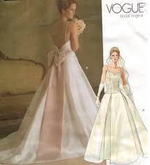 Vogue Bridal Patterns Amazing Decorating Design