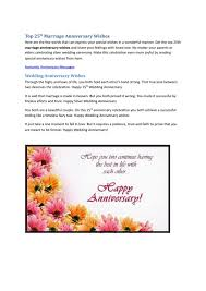 Top 25th Marriage Anniversary Quotes By Angela Rexario Issuu