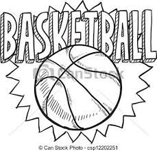 Basketball Drawing Pictures Cool Basketball Drawing Drawings Art Sports Coloring Pages