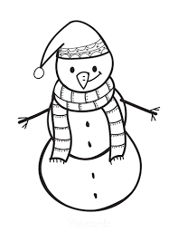 Stats on this coloring page. 60 Best Snowman Coloring Pages For Kids Free Printables