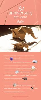 creative paper themed gifts for your first wedding anniversary