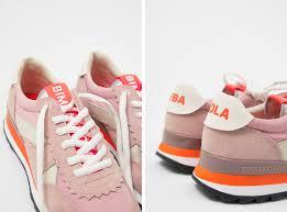 Pink Technical Sneaker