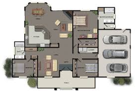house floor plan. Color-floor-plan-renderings House Floor Plan U
