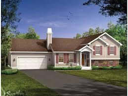 side to side split house plans awesome stucco ranch house plans elegant split entry house plans