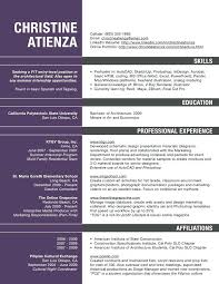Architect Resume Template Architect Resume Examples If You Are An Amazing Resume Sample Architect