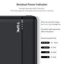Sạc Dự Phòng Nhanh Thông Dụng TOPK I2015P 20000 MAh 18W QC3.0 Dành Cho  iPhone Samsung OPPO VIVO HUAWEI XIAOMI - Hàng chính hãng - Pin sạc dự phòng  di động