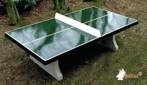 concrete ping pong table diy outdoor