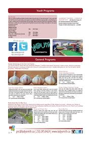 2016 Fall Activity Guide by Town of Ladysmith - issuu