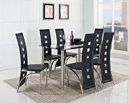 7 piece black dining room set. Gallery Photos Of Amazing Black Dining Room Table Set 7 Piece
