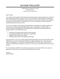 covering letter example for receptionist receptionist cover letter example executive public relations
