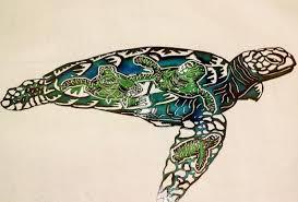 metal sea turtle sea turtle metal wall