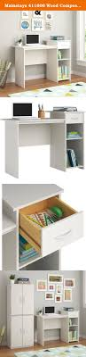 mainstays wood composite adjustable shelf student desk create your
