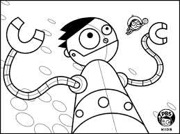 Small Picture Online Pbs Kids Coloring Pages 75 For Your Free Coloring Book with