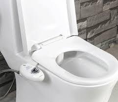 bidet toilet. luxe bidet neo 110 - fresh water non-electric mechanical toilet seat attachment (white and white) amazon.com