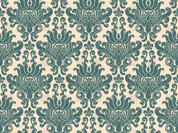 Damask Pattern Free Seamless Luxurious Blue Damask Pattern Vector Illustration Of
