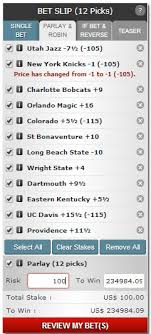 Round Robin Parlay Chart Parlay Bets Best Sportsbooks To Bet Parlays