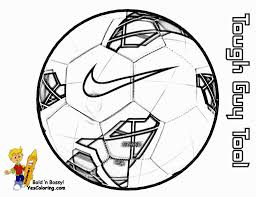 Soccer Ball Soccer Ball Coloring Page