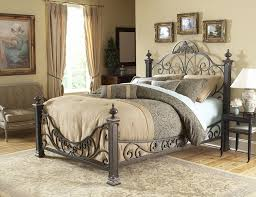Wrought Iron Bed Frame King — Allin The Details : The Popular White ...