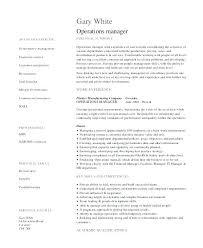 Sample General Manager Resume Hotel General Manager Resume Sample Security Resumes It Asset