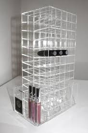 Lipstick Display Stands Acrylic Lipstick Cosmetic Rotating Stand Storage LUX BOX 71