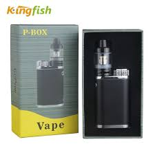 <b>Kingfish P</b>-<b>BOX</b> e cigarette <b>Top</b> filling Atomizer Subox Mini Vape <b>Kit</b>